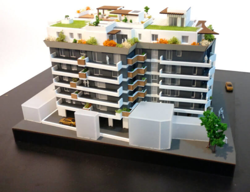 Model of a Pre-Certified Building – Green Building