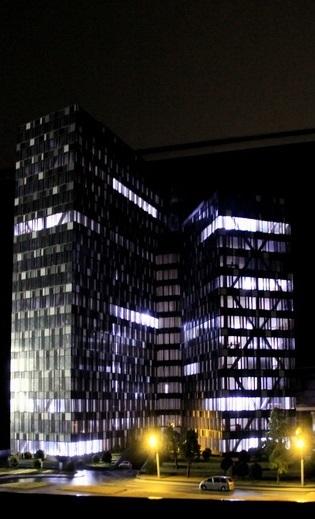Illuminated Architectural Model