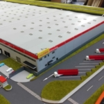 Logistic Park Scale model