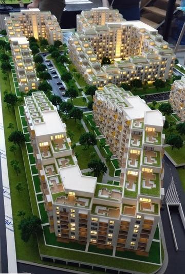 Residential District Model - Arbo Residence