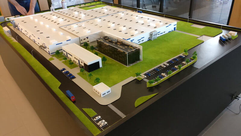 large Factory model