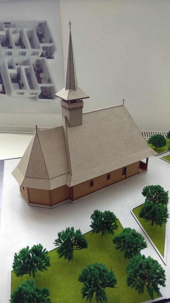 Architectural Model Religious Architecture