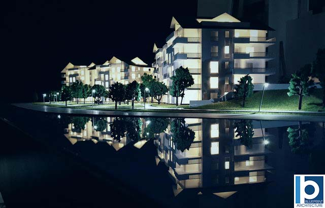 Holiday Resort Site Model