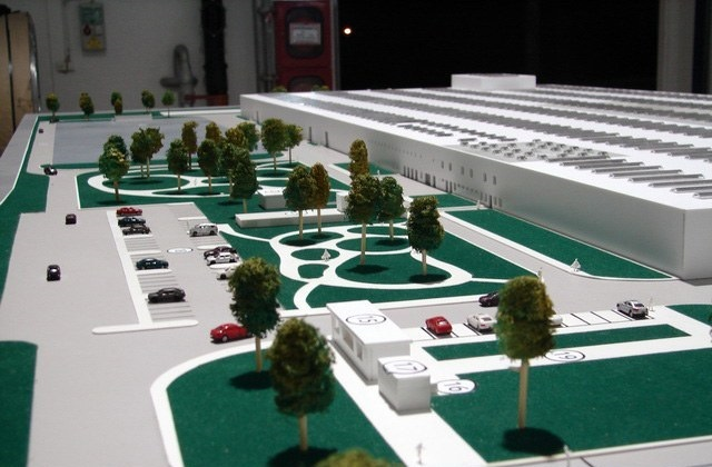 Industrial Scale Model Factory