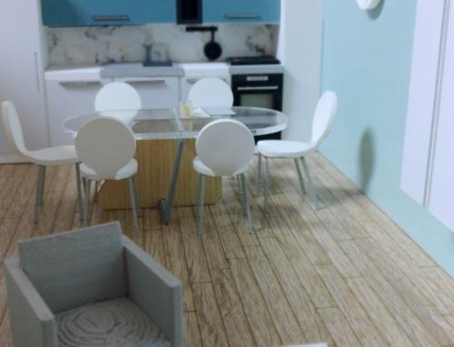 Interior Model of an apartmant