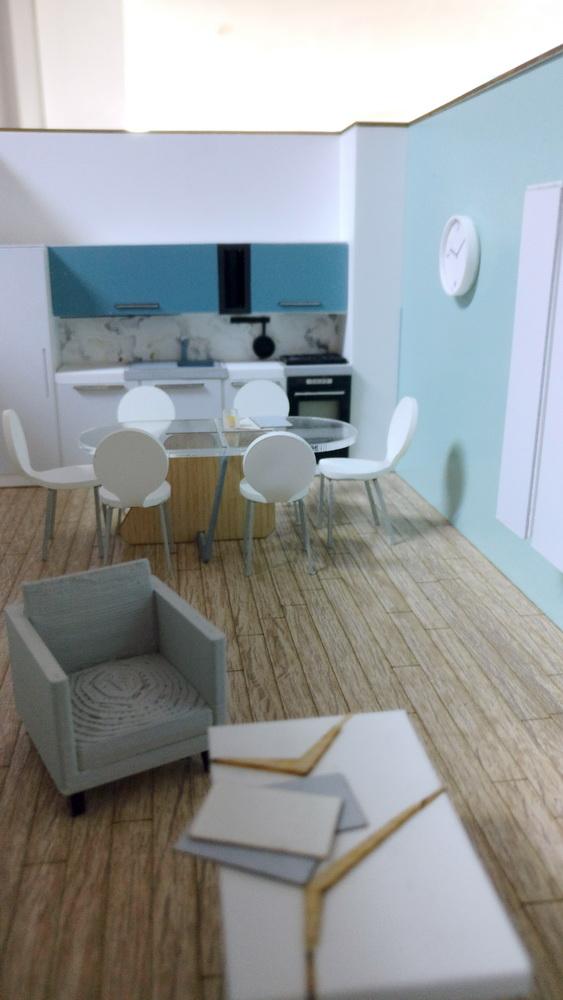 Interior spaces furniture