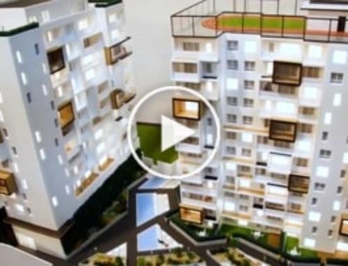 Apartment Development Model at 1:100 Scale