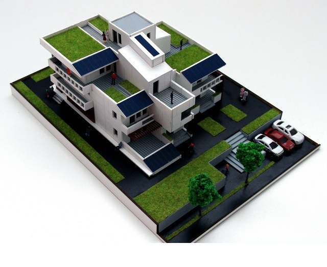 private residence scale model