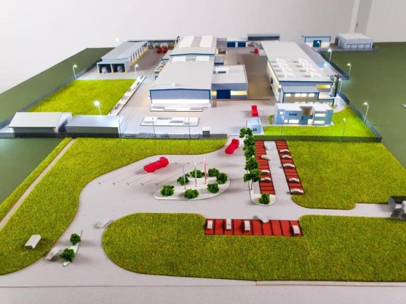 aluminium recycling plant model