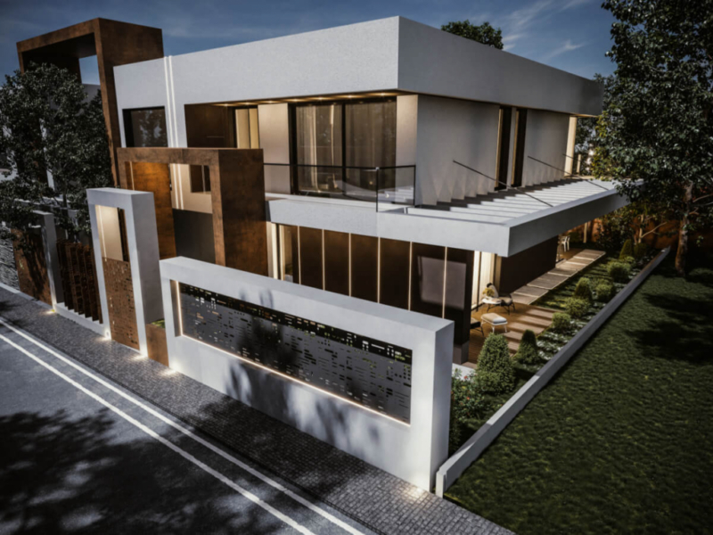 Affordable 3D House Rendering