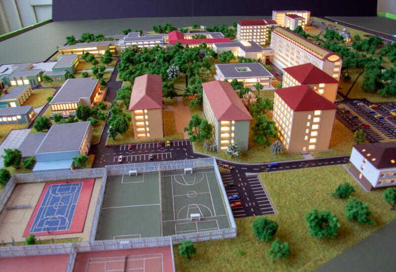 Campus Architectural Design Model