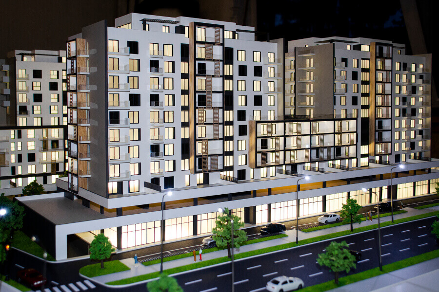 Architectural Models for Real Estate Agencies
