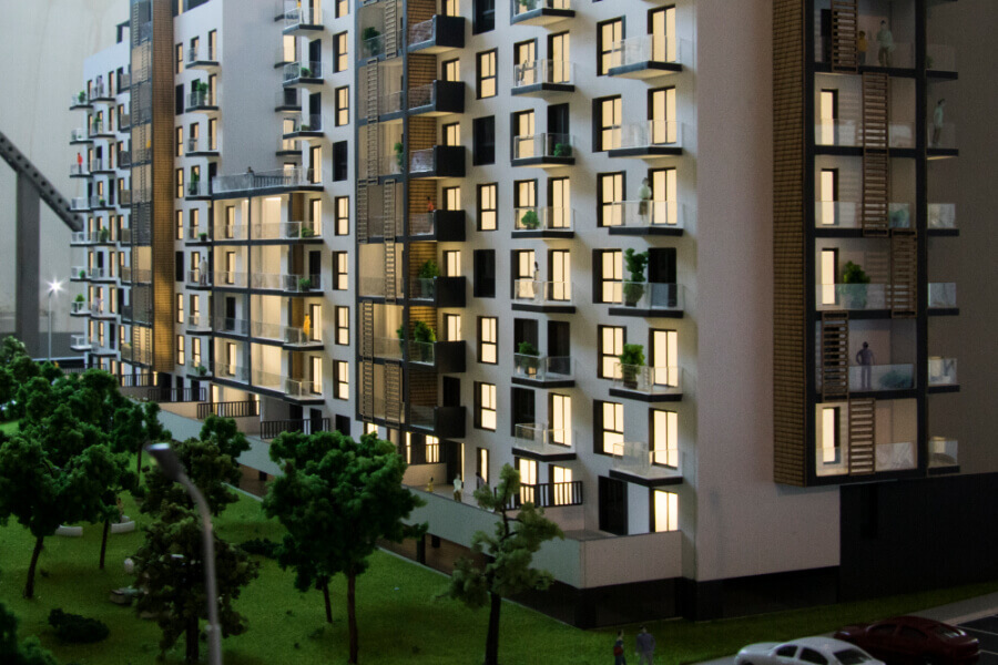 Real Estate Architectural Model