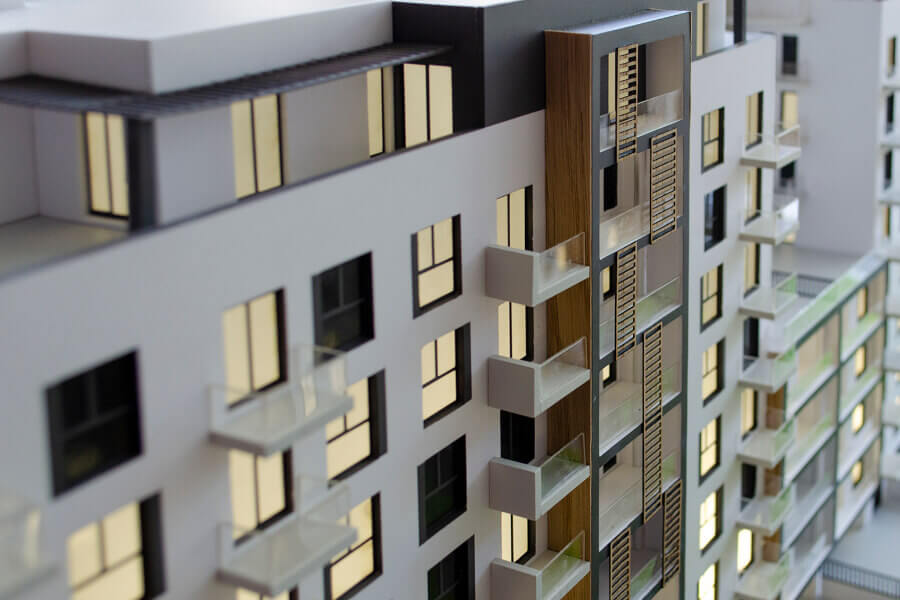 Residential Complex Scale Model
