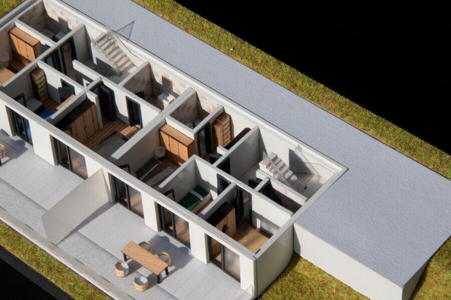 Scale Model Demountable House