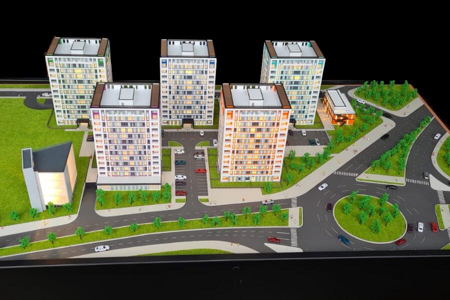 Architectural Model 3d model