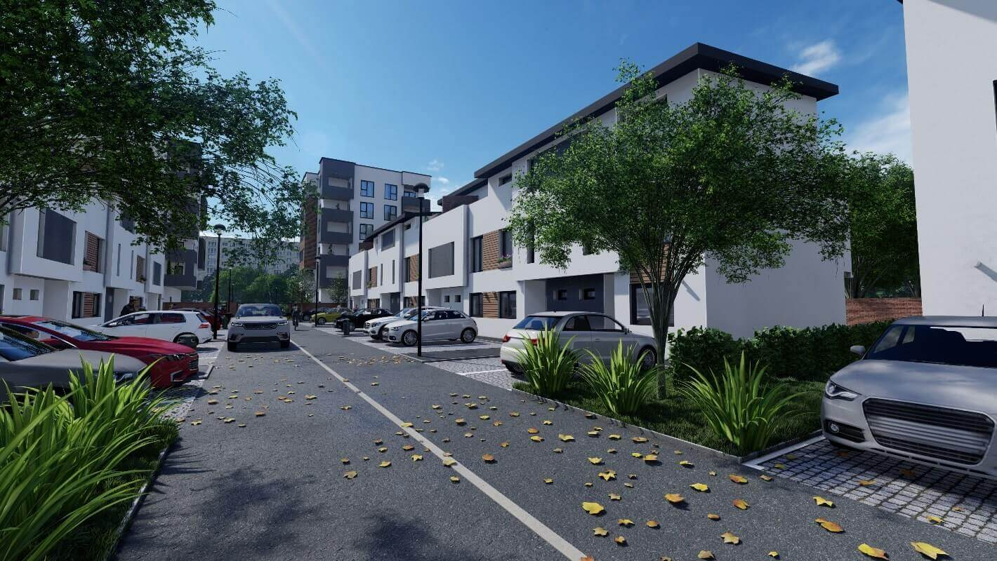 3D Exterior Architectural Rendering