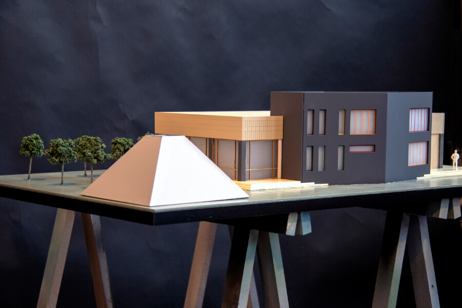 Exhibition Center Scale Model