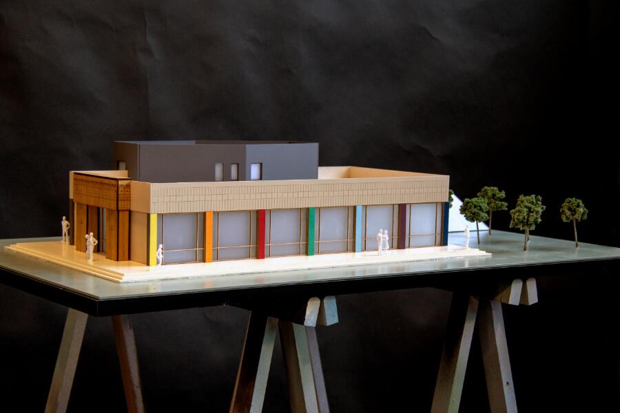 Exhibition Center scale Models