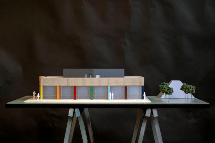 Museum Scale Model