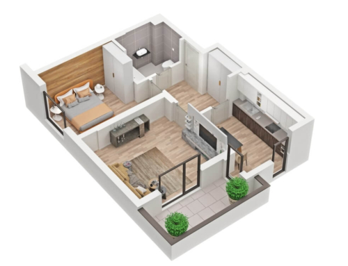 3D Floor Plans – Renderings