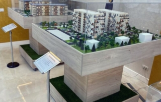 Architectural Models Residential Complex