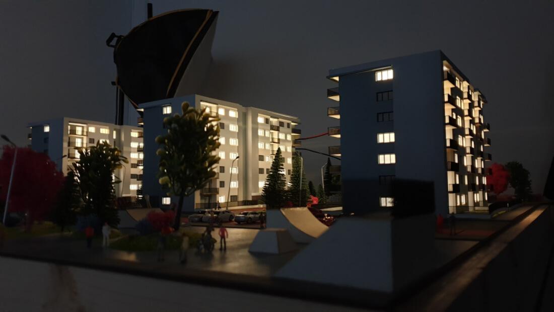 Architectural model for real estate developer