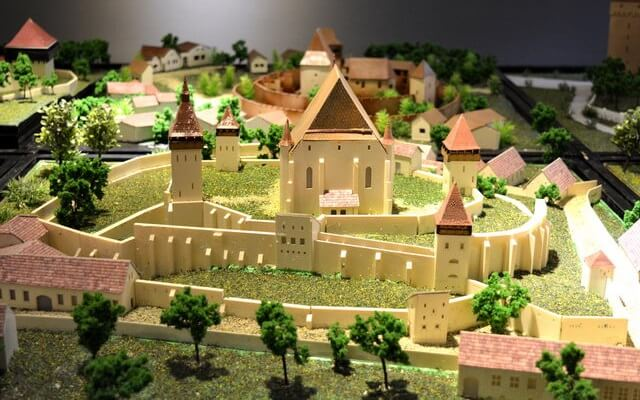 Fortified Churches Models