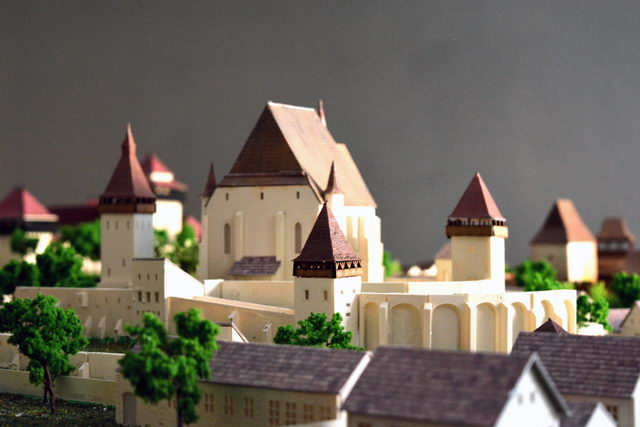 Fortified church model