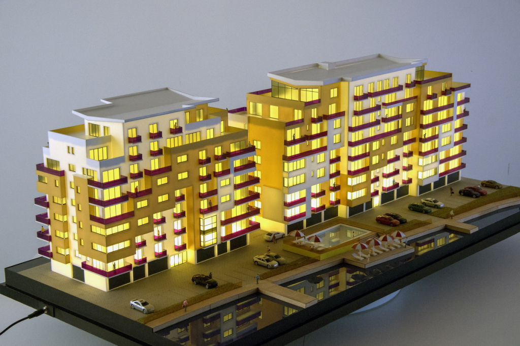 Residential Buildings Scale Model