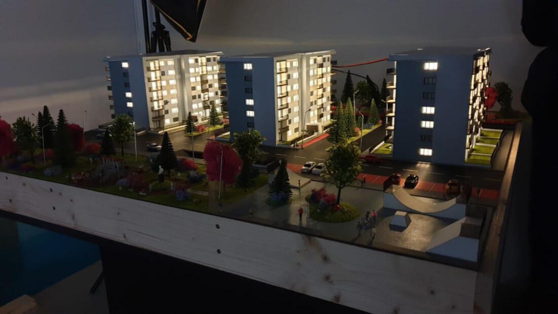 scale model for Real estate developer