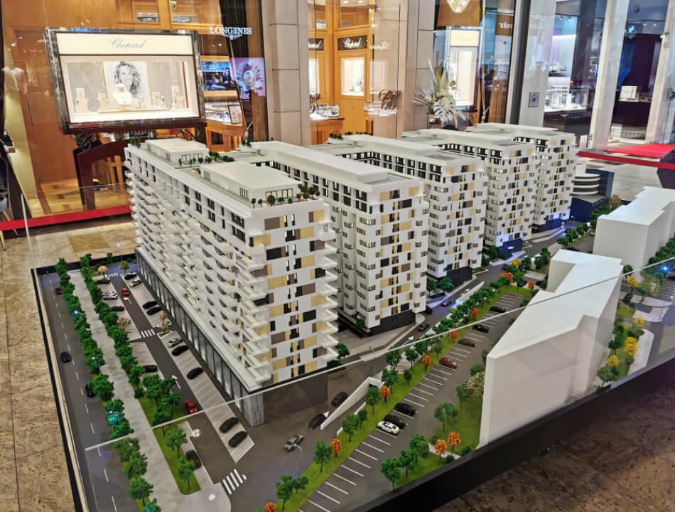 Apartment Buildings Models