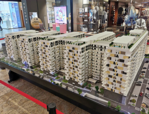 Central Residence Architectural Model