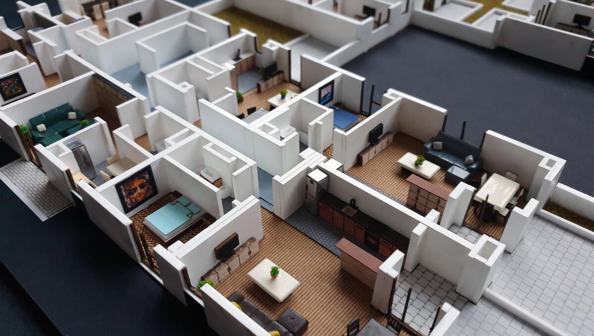 Scale Model Building Floor