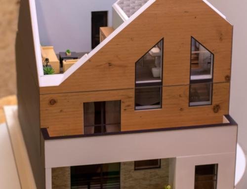 Detachable House Model