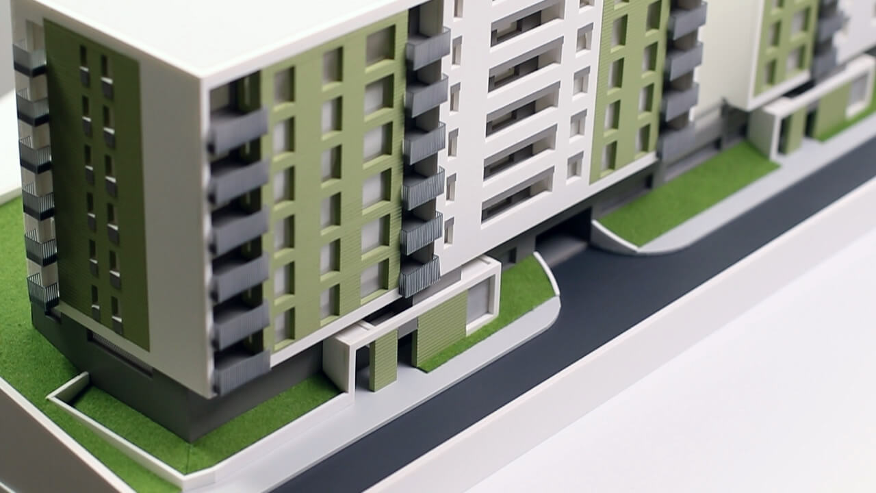 Residential Building Scale Models