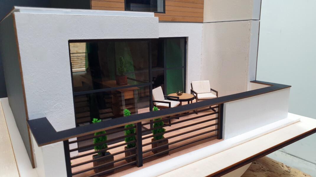 balcony house model