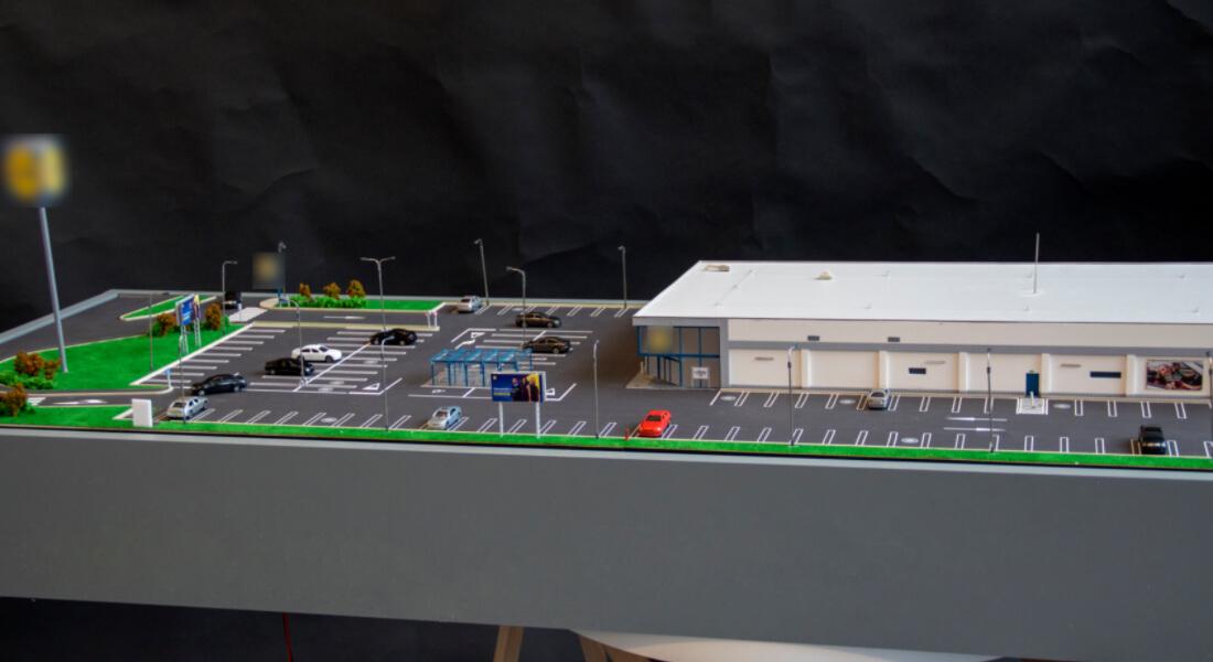 supermarket scale model