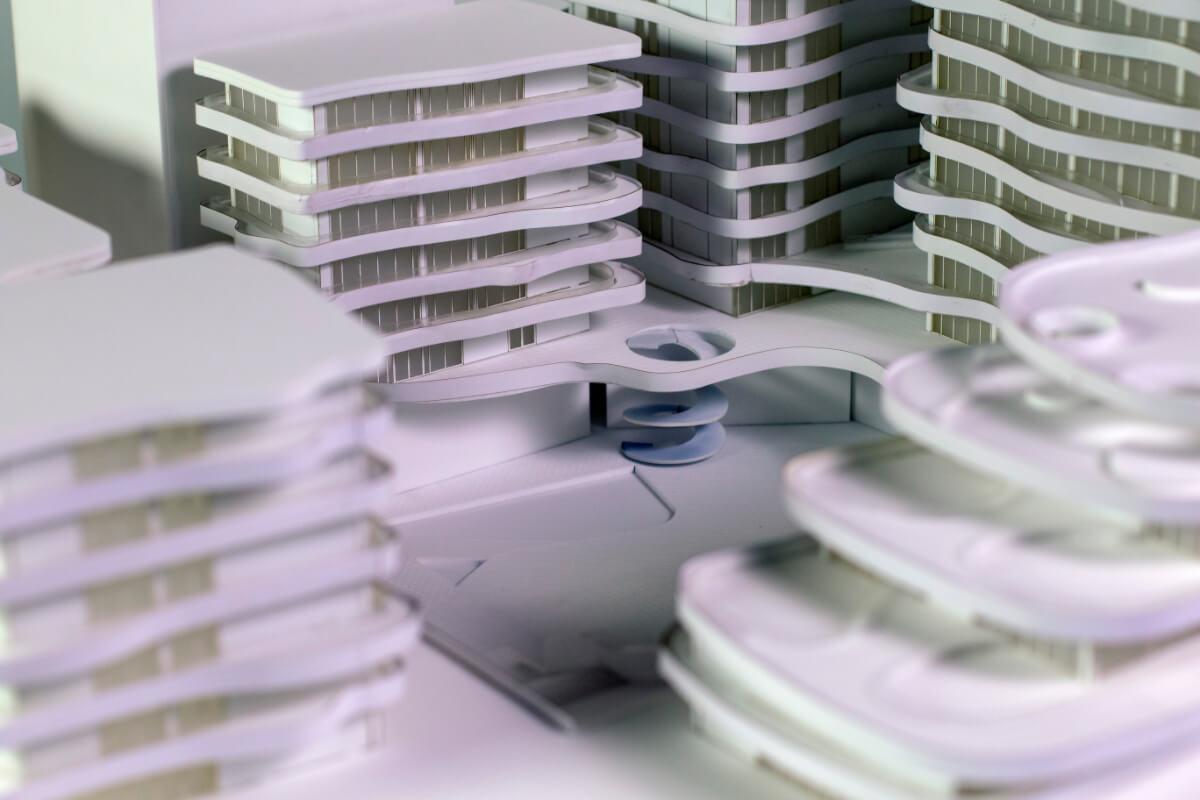 Apartment Building Model France