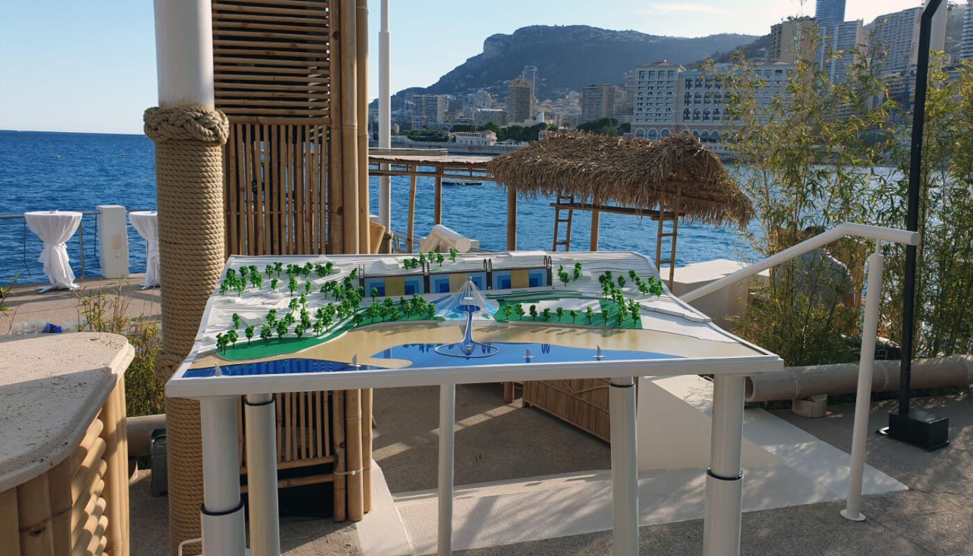 Architectural Model Hotel Monaco