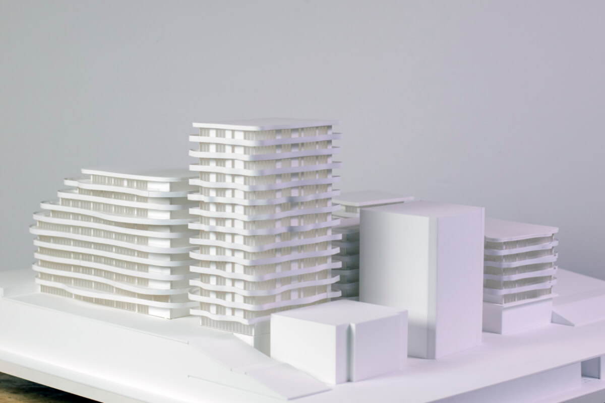 Buildings Architectural Scale Model