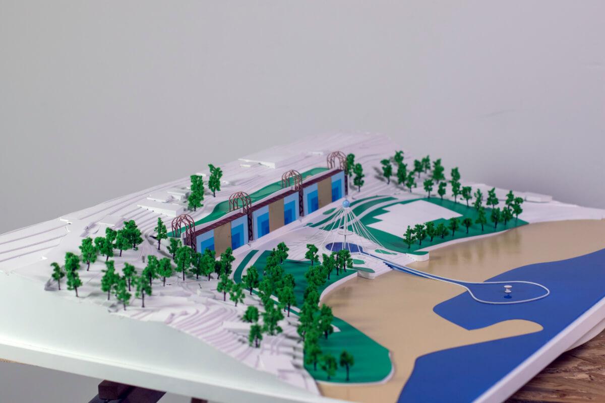 Hotel Architectural Scale Model