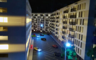 Residential Building Scale Model