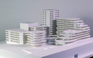 Residential Buildings Architectural Scale Model