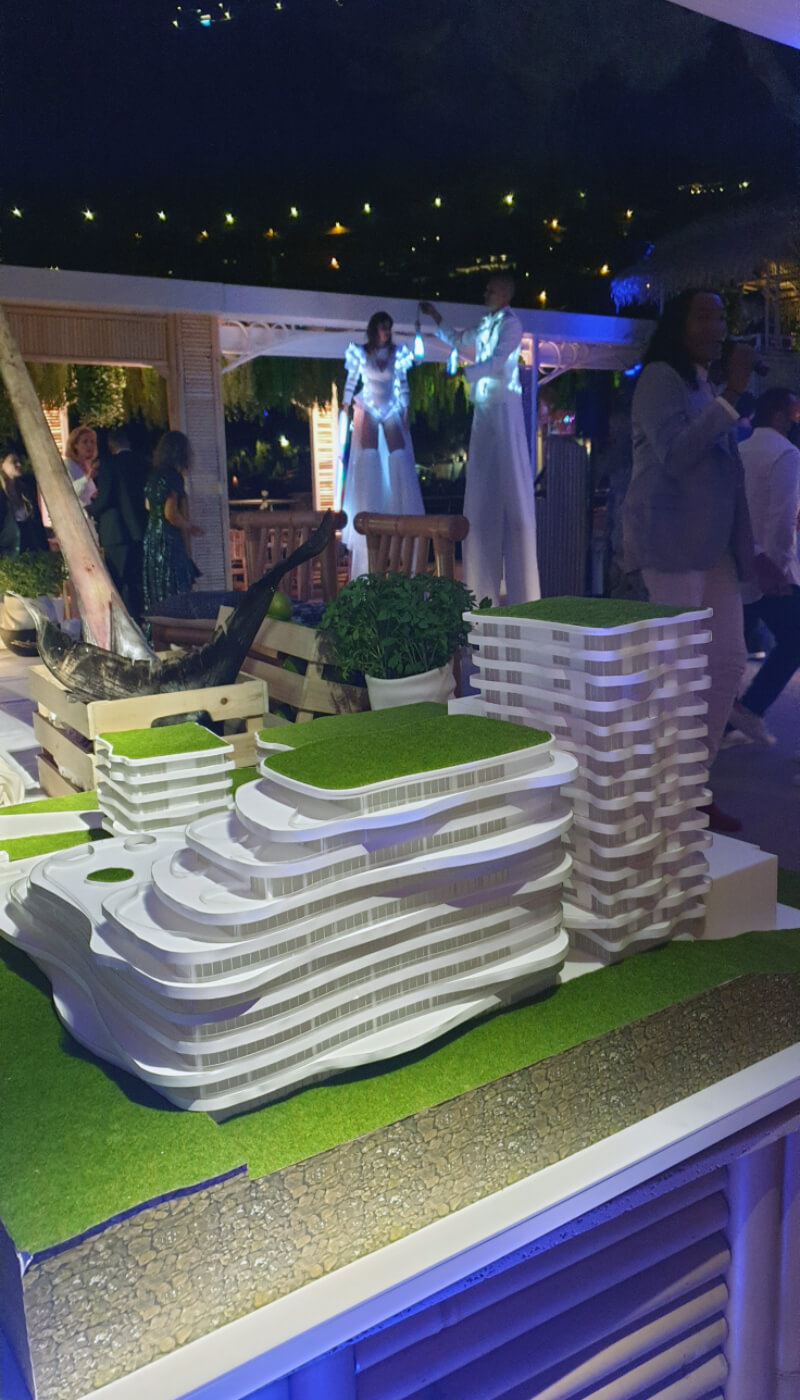 Residential Complex Model