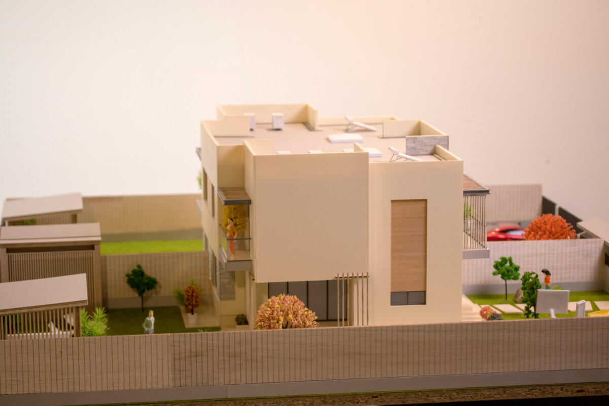 Miniature Residential House