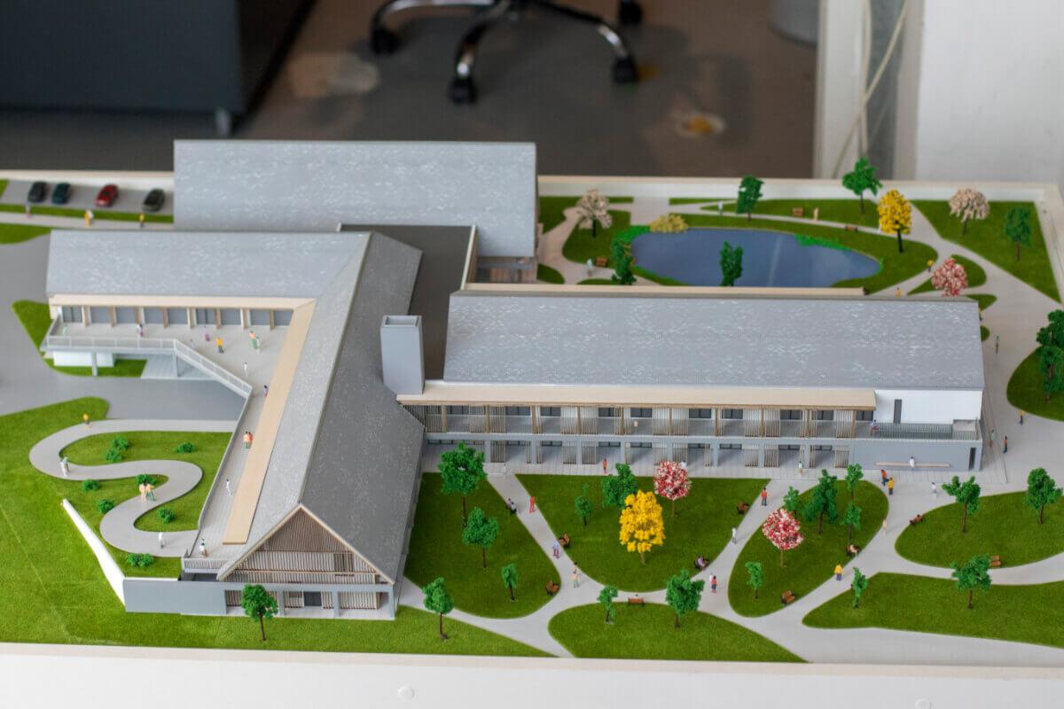 Senior Village scale models