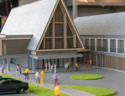 Architectural models – how are they built ?