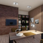 realistic interior 3d rendering