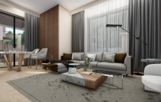 render of the interior of a house
